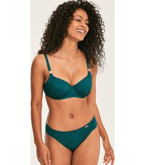 marseille underwired non padded gathered full cup bikini top