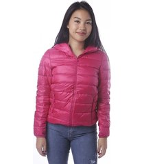 campera fucsia vov jeans inflable