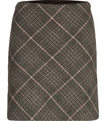 mini kort kjol grå abercrombie & fitch