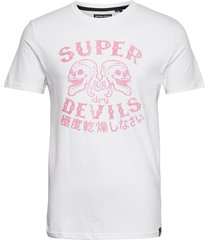 military tee t-shirts short-sleeved vit superdry