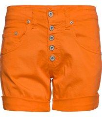 5b shorts cotton shorts denim shorts orange please jeans