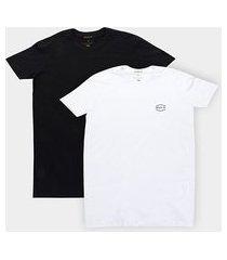 camiseta rvca airborne 2 peças masculina