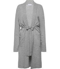 man robe morgonrock badrock grå davida cashmere