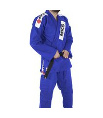 kimono mks jiu jitsu azul