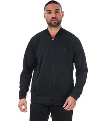 mens warm-up track top