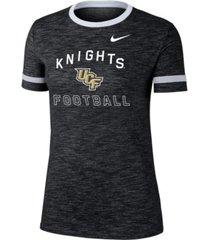 nike women's university of central florida knights slub fan ringer t-shirt