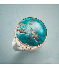 tranquil turquoise ring