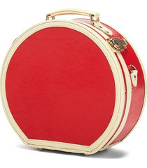 steamline luggage the entrepreneur small hatbox in lip print at nordstrom
