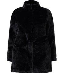 fuskpäls vmthea 3/4 faux fur jacket curve