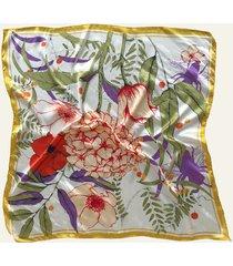 pañuelo amarillo nuevas historias flores ba1397-31