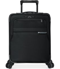 briggs & riley baseline international softside carry-on wide-body spinner