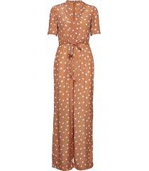 delicate jumpsuit jumpsuit oranje by ti mo