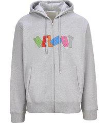 helmut lang 3d zip hoodie