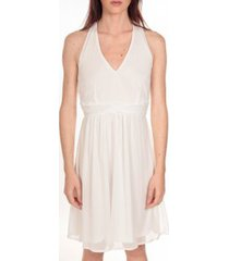 korte jurk vero moda robe miami blanche