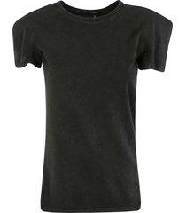 square shoulder t-shirt