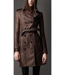 women rustic leather trench coat genuine lambskin sizes s,m,l,xl,xxl custom fit