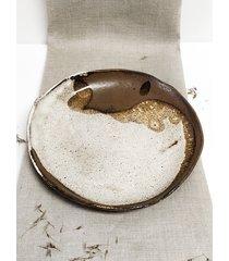 ceramiczny talerz kolekcja village