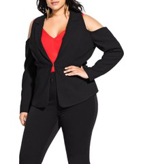 plus size women's city chic miss holloway jacket
