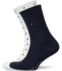th women sock dot 2p lingerie socks regular socks vit tommy hilfiger