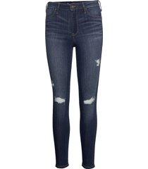 jeans slimmade jeans blå hollister