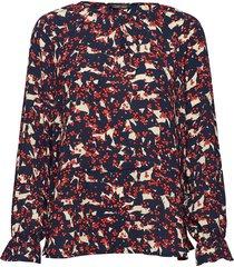 mema blouse lange mouwen multi/patroon stella nova