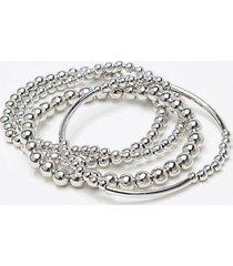 loft metallic ball bracelet