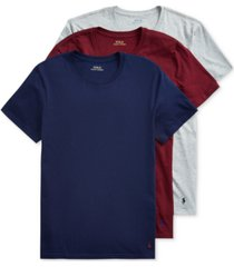 polo ralph lauren men's 3-pk. classic-fit cotton undershirts