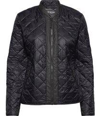 light quilt jacket gevoerd jack zwart ilse jacobsen