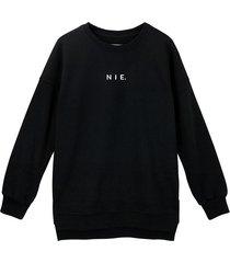 bluza oversize czarna nie.