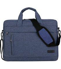 tablet pc bolso bolsa de portátil de gran capacidad repelente de agua.