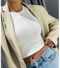 double breasted boxy military blazer, sage