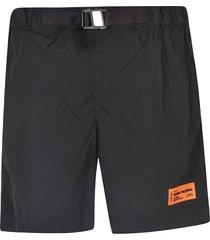 heron preston nylon shorts
