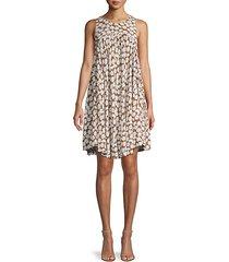 daisy sleeveless mini dress