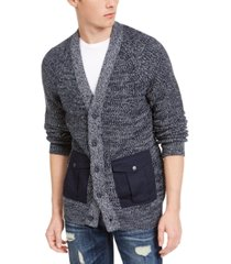 american rag men's textured cardigan, created for macy's