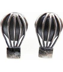 baloniki małe - kolczyki srebrne