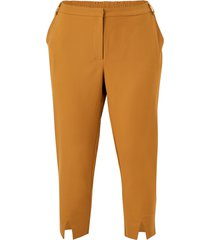 byxor jribell tailored ankle slit pants