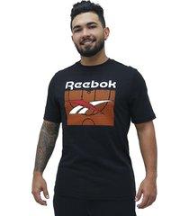 camiseta classics b-ball reebok