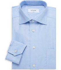 classic-fit patch pocket dress shirt