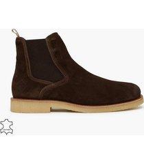gant barkley chelsea chelsea boots dark brown