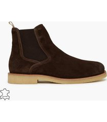 gant barkley chelsea chelsea boots dark brown