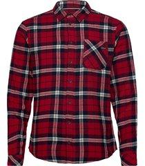 shirt skjorta casual röd blend