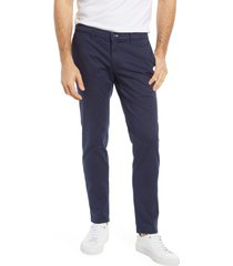 brax silvio stretch cotton chino pants, size 34 x 32 in ocean at nordstrom