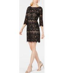 jessica howard allover lace sheath dress
