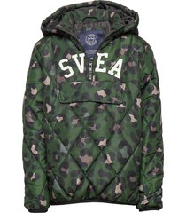 k. quilted anorak hood jacket gevoerd jack groen svea