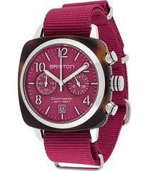 briston watches clubmaster classic 40mm watch - pink