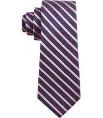 tommy hilfiger men's exotic slim stripe tie