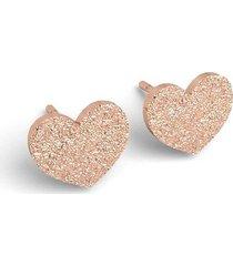 kolczyki serca-srebro,złoto,różowe złoto
