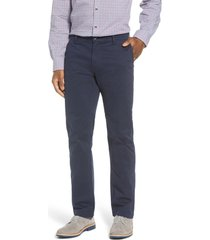 men's big & tall cutter & buck voyager stretch cotton chino pants, size 44 x 34 - blue
