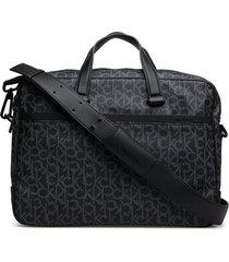 ck mono laptop bag e computertas tas zwart calvin klein