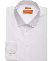egara orange skinny fit dress shirt white